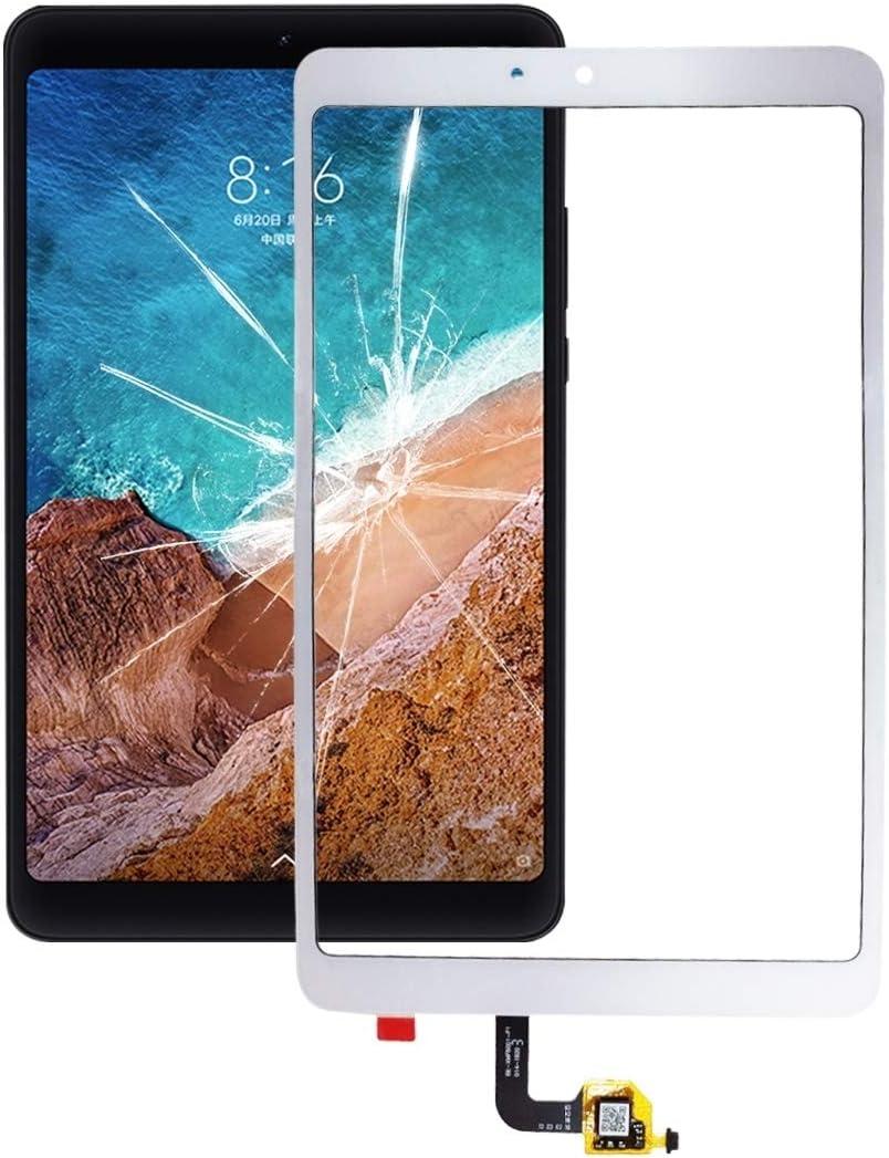 Accesorios para teléfono móvil Panel táctil for Xiaomi Mi Pad 4 (Negro) (Color : White)