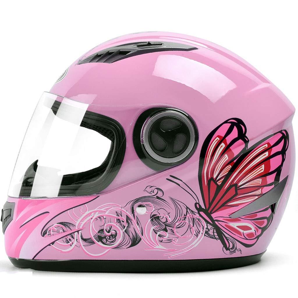 ZJJ Helm- Modischer Full-Cover-Helm, Regen- und UV-Schutzhelm, Anti-Fog-ObjektivB07Q3BRG6XKinder- & JugendhelmeNeueste Technologie     | Erschwinglich