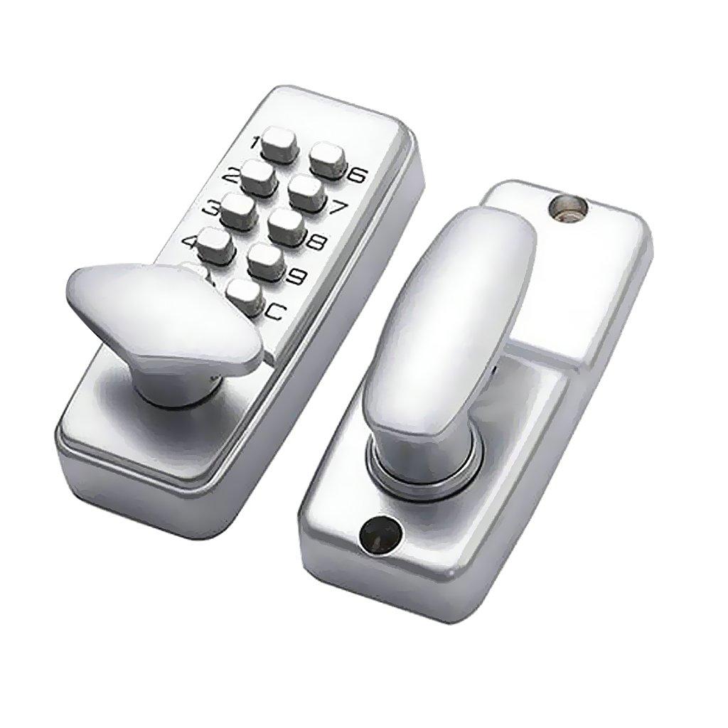 Sharplace Serrure /à Code Num/érique Digicode Verrou Mot de Passe Verrouillage de Porte /Électronique Entr/é S/écurit/é OS209A