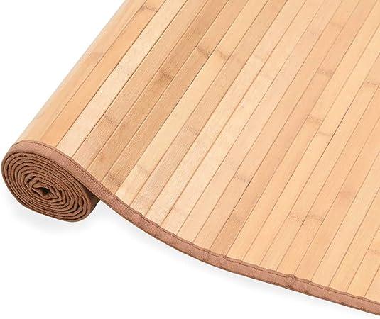 Tidyard Alfombras Bambu Alfombra Comedor Alfombra de Bambú