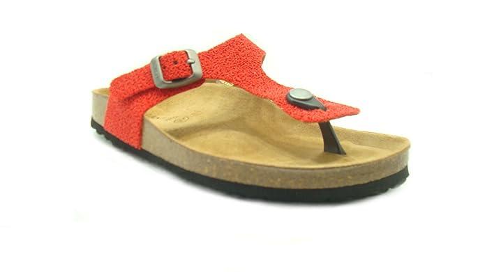 GRÜNLAND Sandalias de Material Sintético Para Mujer Rojo Rojo - Rojo Size: 37 zagFe