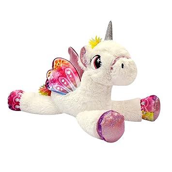 Amazon Com Novelty Inc Jumbo 18 Plush Magical Unicorn Pony