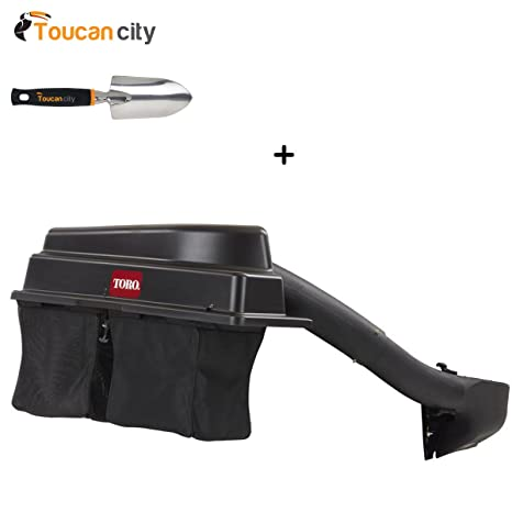 Toucan City Toro 79345 - TimeCutter HD E-ZVac con doble bolsa y ...