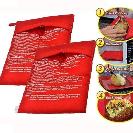 Ailyoo Bolsa Reutilizable para Papas de Cocina Patatas 2 ...