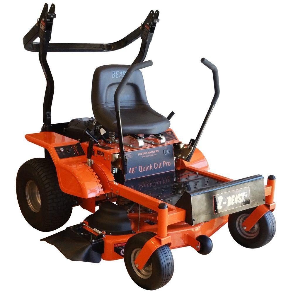z beast 48 mower reviews