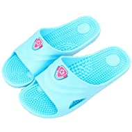 SAMSAY SPA Massage Slippers Household Bathroom Shower Sandal Shoes for Women Men