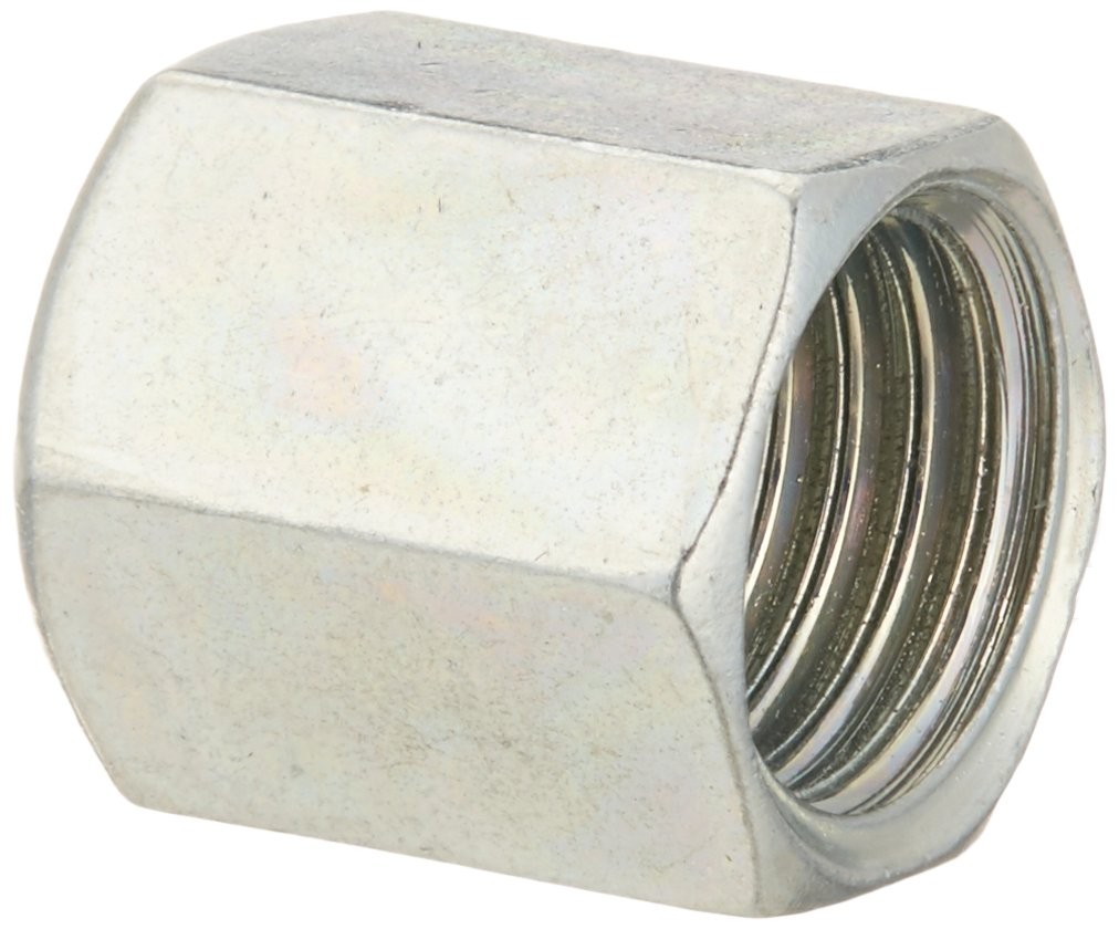 Pack of 10 Eaton Products 6 mm Tube OD Metric Flareless Nut Eaton Weatherhead ML7105X6 Carbon Steel DIN Fitting