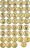 Presidential Coin Set P&D Mint 78 coins 2007 to date Uncirculated Washington - Ronald Reagan