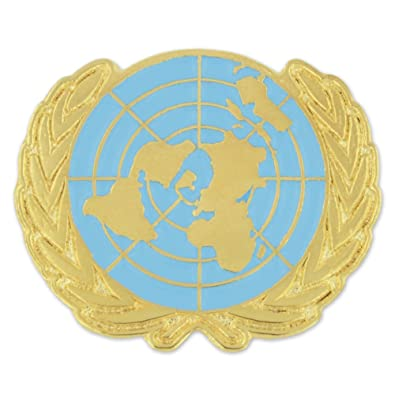 PinMart United Nations UN World Peace Enamel Lapel Pin