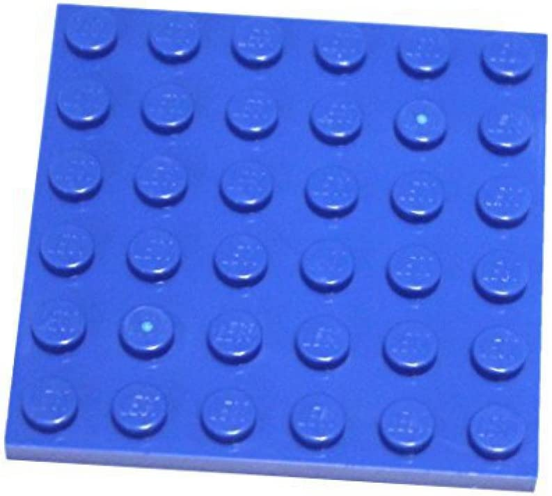 LEGO Parts and Pieces: Blue (Bright Blue) 6x6 Plate x20
