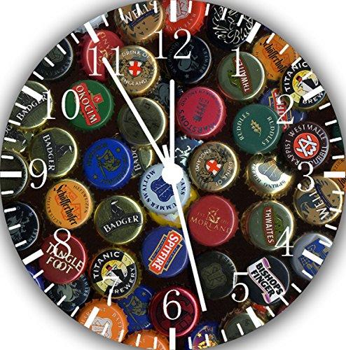 New Beer Caps Wall Clock 10