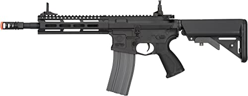 G G CM16 Raider 2.0 6mm AEG Airsoft Rifle in Black w M-LOK Handguard