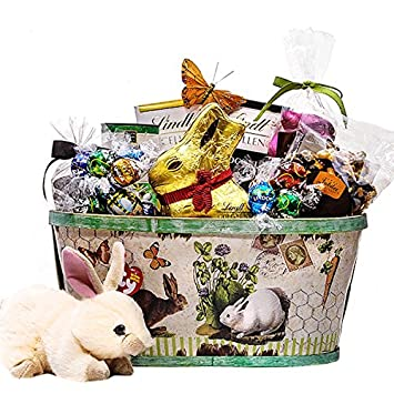 Amazon lindt easter gift basket grocery gourmet food lindt easter gift basket negle Gallery