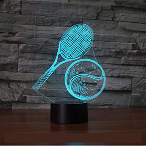 Tenis 3D Light Seven Touch Led Regalo visual Decoración de ...