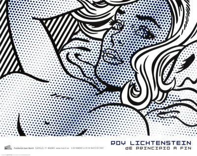 Seductive Girl Art Poster Print by Roy Lichtenstein, 34x27