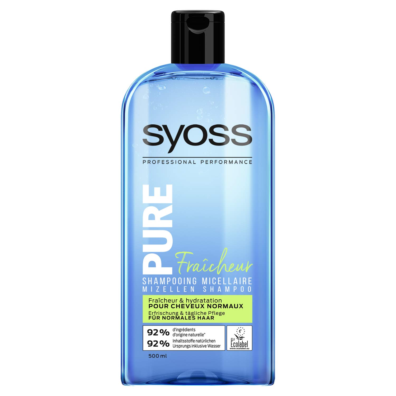 Syoss Pure Fresh Shampoo for Normal Hair 500 ml