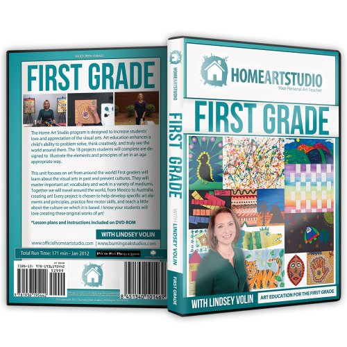 Home School Art Studio Program DVD with Lindsey Volin 1st Grade