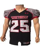 Under Armour Men's SMU Mustangs #25 Football Jersey (Sewn-On) Medium