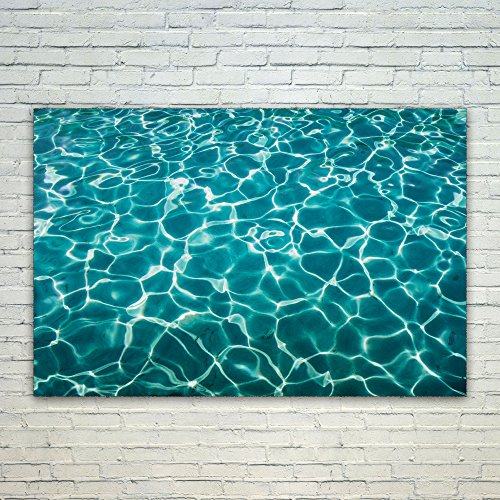 Westlake Art Poster Print Wall Art - Water Blue - Modern Pic