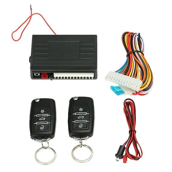 KKmoon Mando Central de coche cerradura cierre Keyless Entry System Kit 4