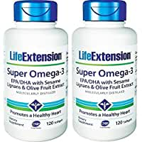 Life Extension Super Omega-3 EPA 240 Count (240 X 2) by Life Extension