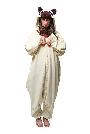 Pug Dog Best Quality Unisex Fleece Adult Animal Onesies,Cute Cosplay Costume Onesies Pyjamas Pijamas