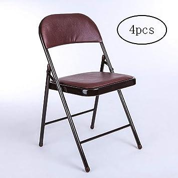 Silla de oficina, simple plegable silla de oficina plegable ...