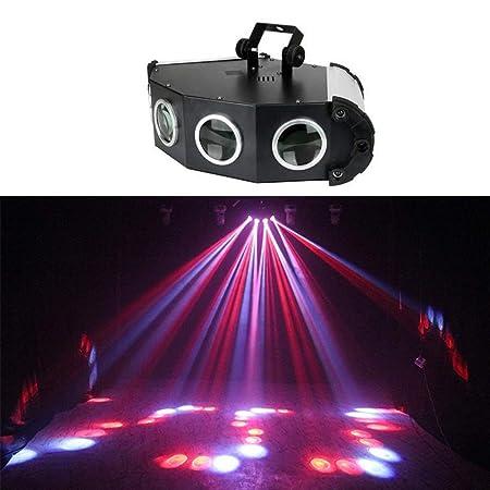 RGB luces del partido, 4 Lente Rojo Verde DJ del proyector Mini ...