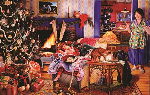 Christmas Thieves 1000 Piece Jigsaw Puzzle by SunsOut