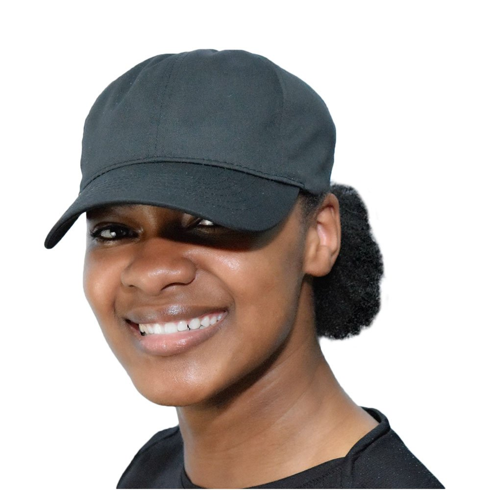 Always Eleven Cotton Baseball Hat with Satin Lining (Black)