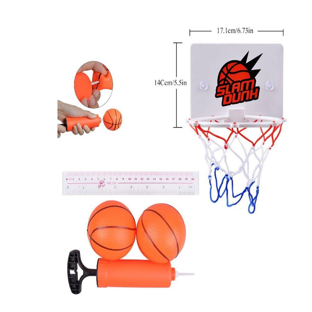 Cyfie Mini cestini da basket Mini Basketball Set Toy Slam Dunk Gadget