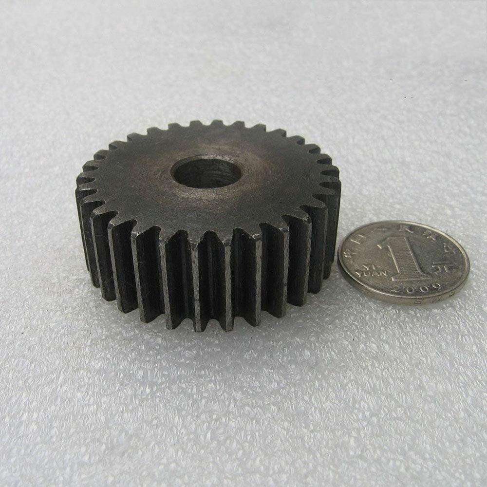1.5Mod 50T Precision 1.5Mod 50T Spur Gear #45 Steel Motor Pinion Gear Thickness 15mm