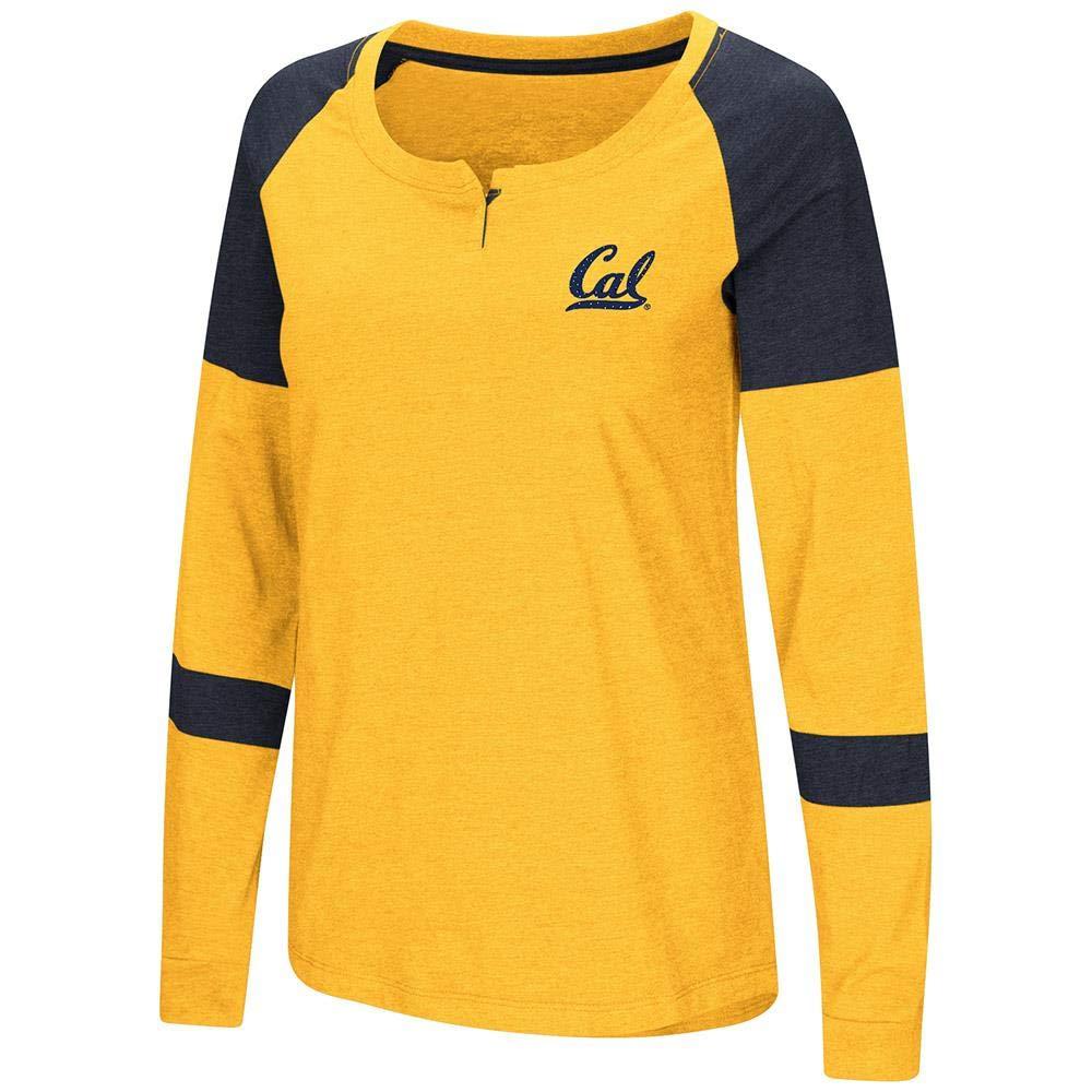 レディース カリフォルニアバークレー ゴールデンベアズ 長袖 ラグランTシャツ B07GT7H35V   X-Large