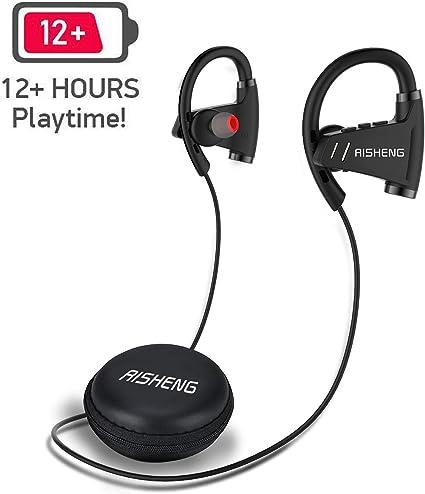 Auriculares Inal/ámbricos con Bluetooth Sonido est/éreo HD cancelaci/ón de Ruido micr/ófono en los Auriculares para Correr y Hacer Deporte bater/ía m/ás Larga tama/ño Mini