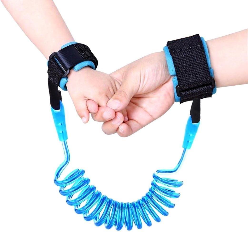 Ularma Toddler Kids Baby Safety Walking Anti-lost Strap Wrist Leash Belt Hand Orange