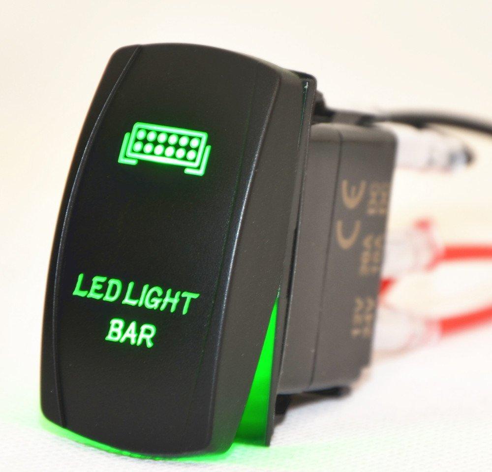 12 V 40 A Verkabelung Laser Rocker Schalter: Amazon.de: Elektronik