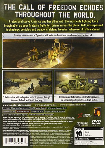 SOCOM 3 U.S. Navy Seals - PlayStation 2 by Sony (Image #1)