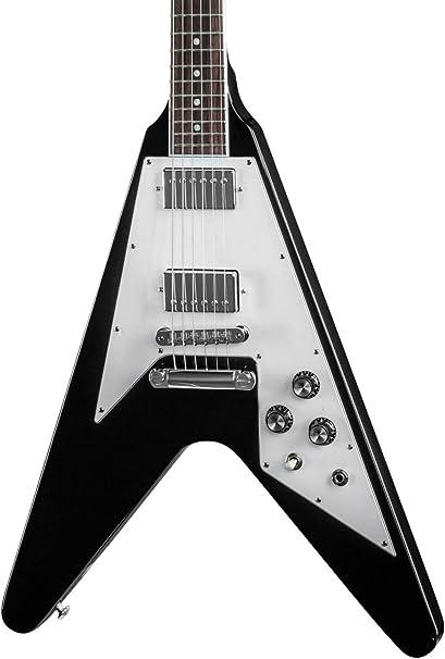 Gibson Flying V 120 Ebony · Guitarra eléctrica: Amazon.es ...