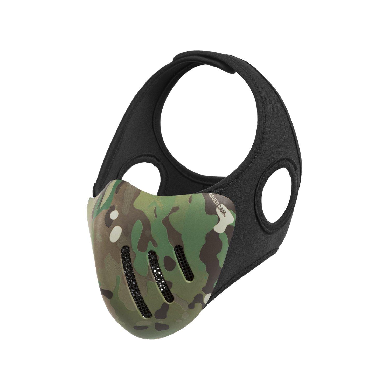 1T Gear half-face Airsoft maschera di Hannibal Bottom maschera per Paintball CS gioco di guerra, OD Green