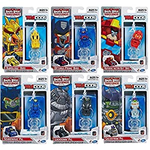 Angry Birds Transformers Telepods Bundle of 6 Optimus Prime Bumblebee Heatwave Galvatron Soundwave Lockdown Pig Bird - 61VxtNMA66L - Angry Birds Transformers Telepods Bundle of 6 Optimus Prime Bumblebee Heatwave Galvatron Soundwave Lockdown Pig Bird