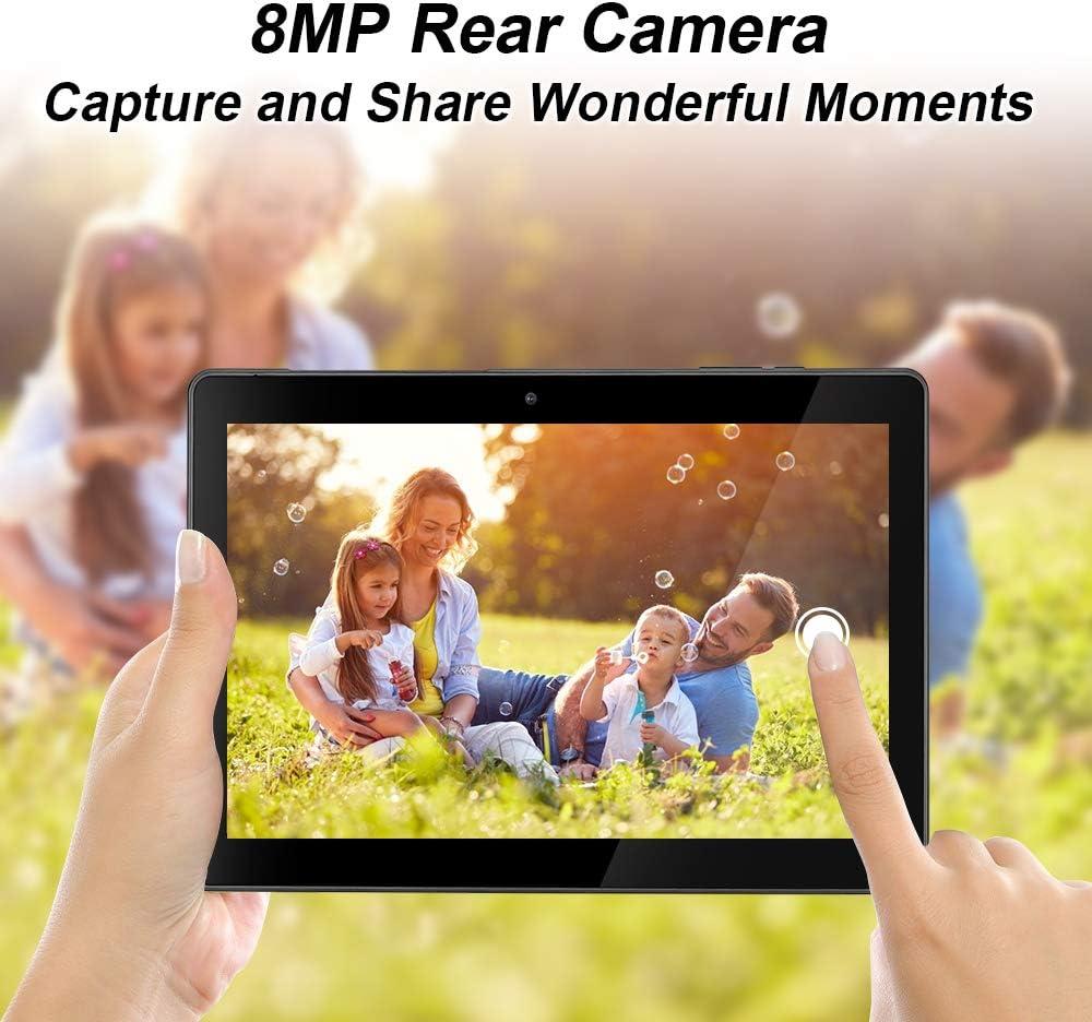 Double cam/éra 2MP+8MP Certifi/é GMS Noir 10.1 processeur quadric/œur Android 10.0 GO Wi-FI Bluetooth 5000mAh 2 Go RAM 32GB de m/émoire Tablette qunyiCO Y10 10 Pouces /Écran IPS HD 1280 x 800