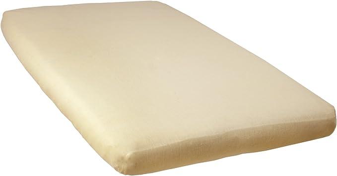 babyCalin Drap Housse Blanc 60 x 120 cm