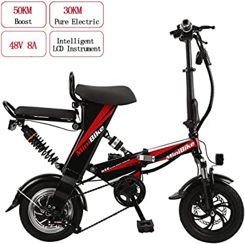 WYD Bicicleta eléctrica de montaña eléctrica para Adultos ...
