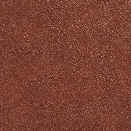 G524 Pecan Brown Upholstery Grade Recycled Leather (Bonded Leather) by The Yard