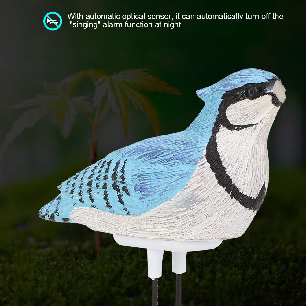 Bodenfeuchtesensor Messger/ät Blau Feuchtigkeitssensor Hygrometer Bodenfeuchtetester aus Harz und Metall f/ür den Garten