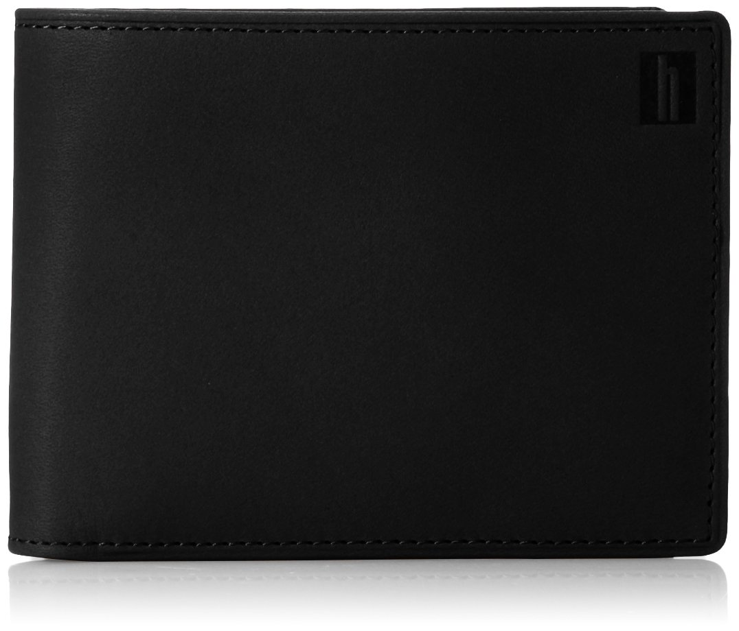 Hartmann Belting Collection Wallet with Removable Card Wallet, Heritage Black, One Size