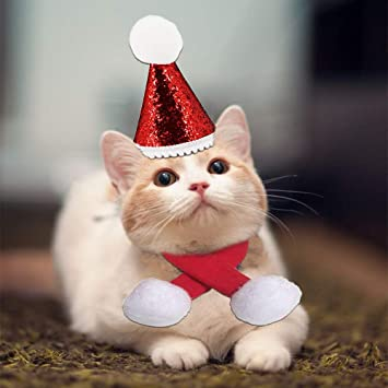 kungfu Mall 2 Collares de Navidad para Mascotas, Ajustables ...