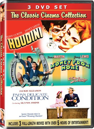 ollection - 3 DVD SET! - Houdini, Money from Home, & Papa's Delicate Condition ()