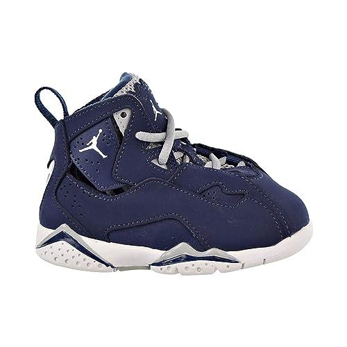 e9ab8fcf4a1 Nike Toddler Jordan True Flight Midnight Navy White-Wolf Grey (4 M US  Toddler)  Amazon.ca  Shoes   Handbags