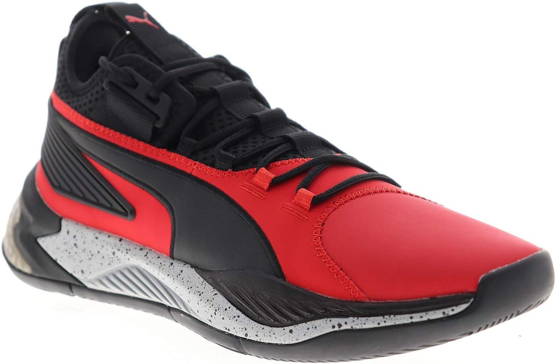 | PUMA Mens Uproar Hybrid Court Core Red Athletic